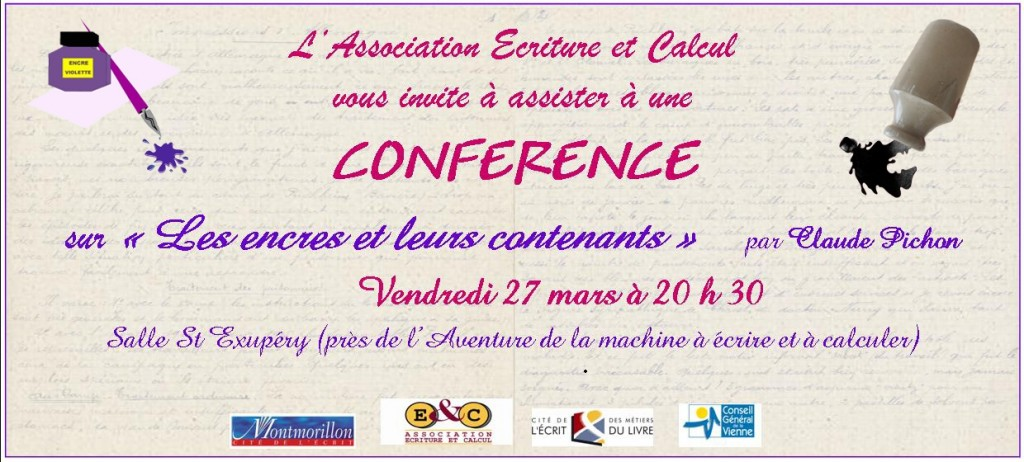 Invitation conf_ ENCRES Virginie